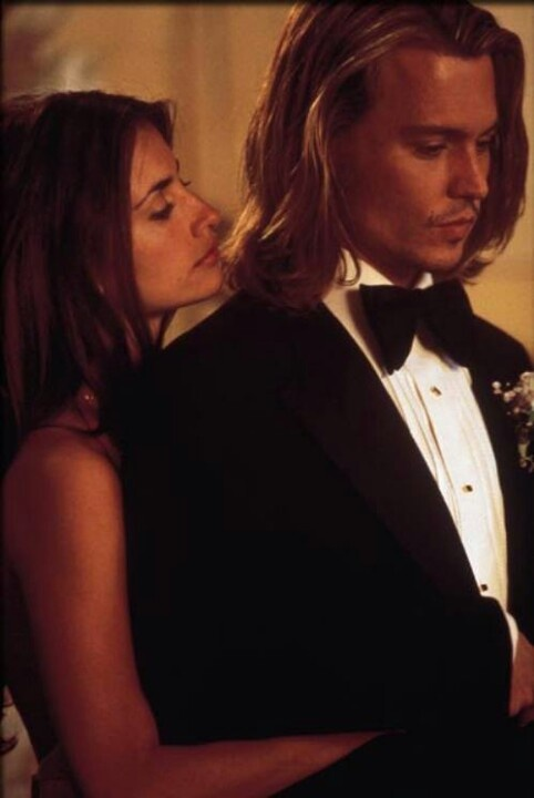 Blow (2001), Penelope Cruz and Johnny Depp. Directed by Ted Demme