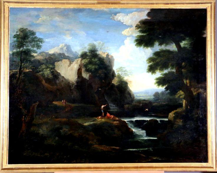Andrea Locatelli (1695-1741) Atelier- Campagne Romaine, Galerie PhC, Proantic