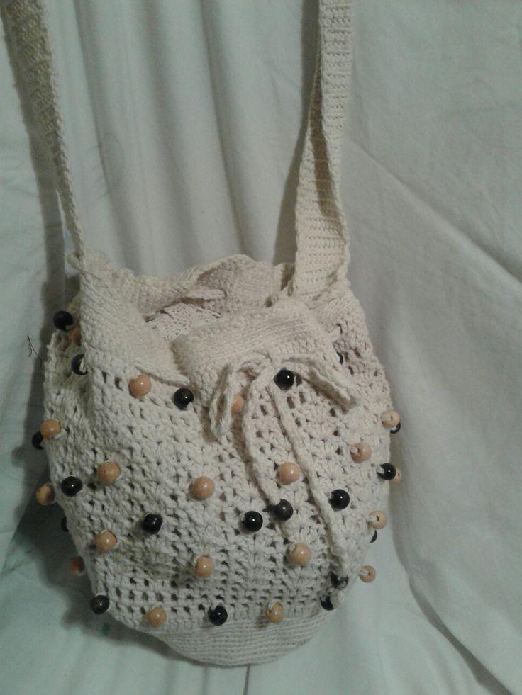 Crochet bag by Anca