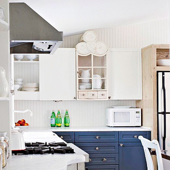 Cabinets, Stock Cabinets And Navy