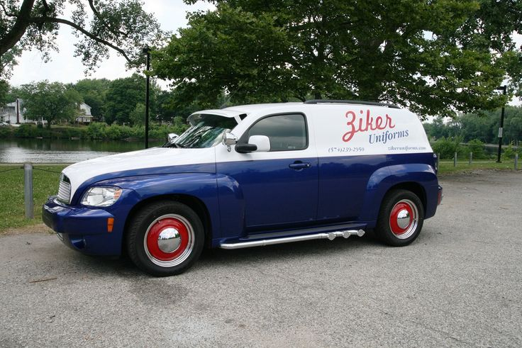 Take the retro looking Chevy HHR and do it up! Way hip.