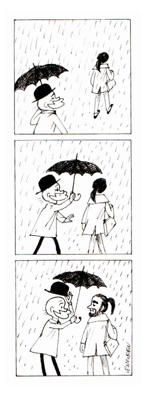 Filutek w deszczu_pomyłka