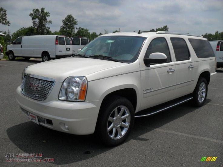 gmc yukon denali xl 2014 | 2011 GMC Yukon XL Denali AWD in White Diamond Tintcoat - 316721 | All ...