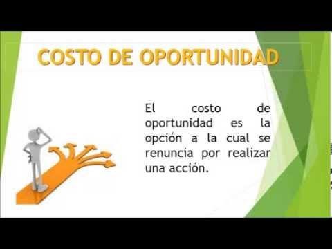 Ejemplo Costo de oportunidad - YouTube