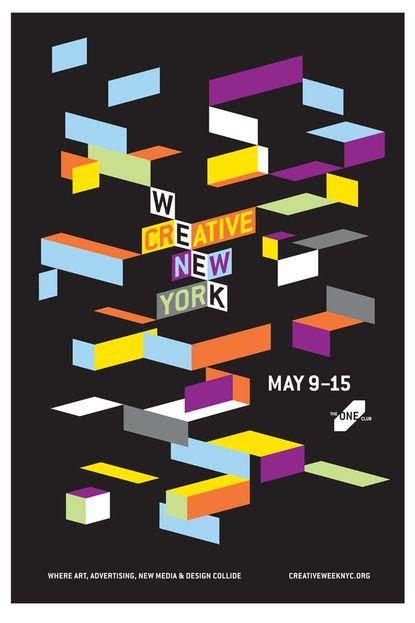 creative week new york poster