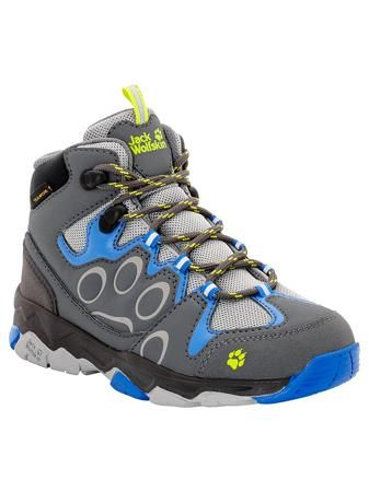 Jack Wolfskin Ботинки MTN ATTACK 2 TEXAPORE MID K  — 5490р. ---- Водостойкие туристические ботинки с отражателями со всех сторон.