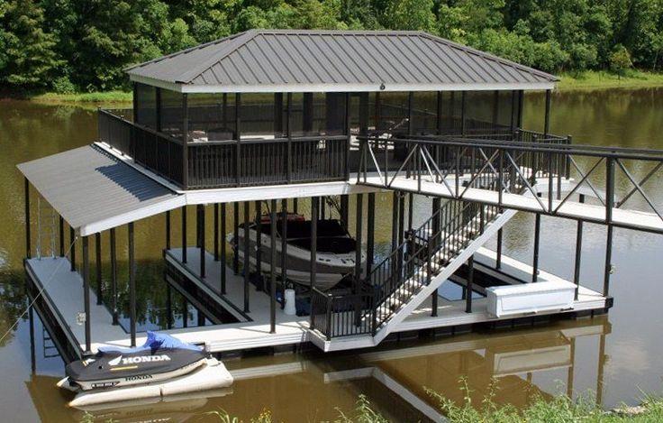 Floating Boat Dock Layouts | Wahoo Aluminum Docks