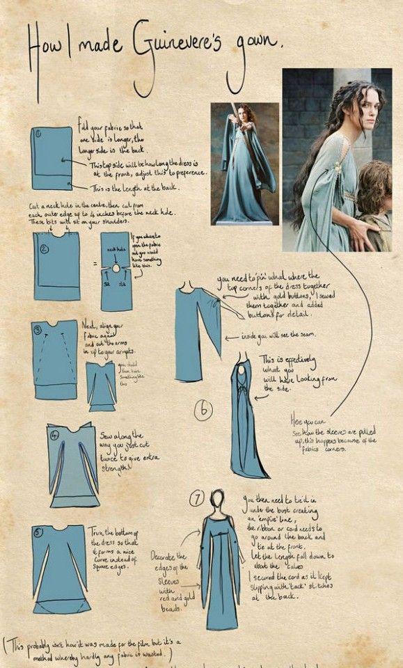 Midevil dress - diy