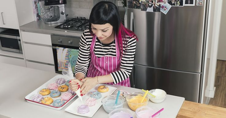Easy Party Doughnuts, recipe by Katherine Sabbath for kMix