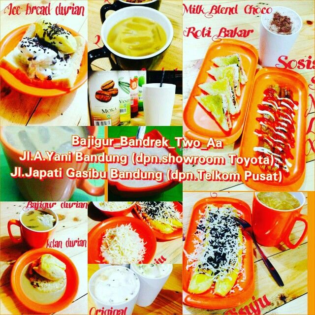 Menu Bajigur Bandrek Two Aa