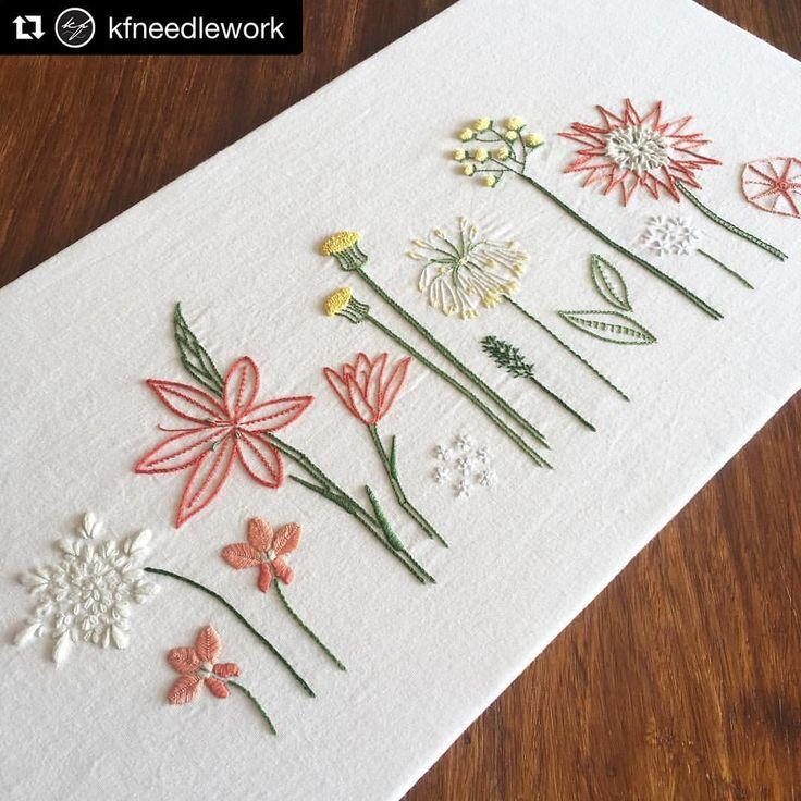 """좋아요 4,330개, 댓글 26개 - Instagram의 Babi Bernardes(@bordados_e_bordadeiras)님: """"@kfneedlework #needlework #handembroidery #ricamo #embroidery #bordado #broderie"""""""
