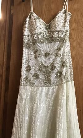 Sue Wong wedding dress currently for sale at 42% off retail.