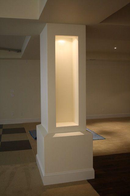 Basement Poles | Basement Pole Cover Ideas 3aj8atzk Oconnor Basement More