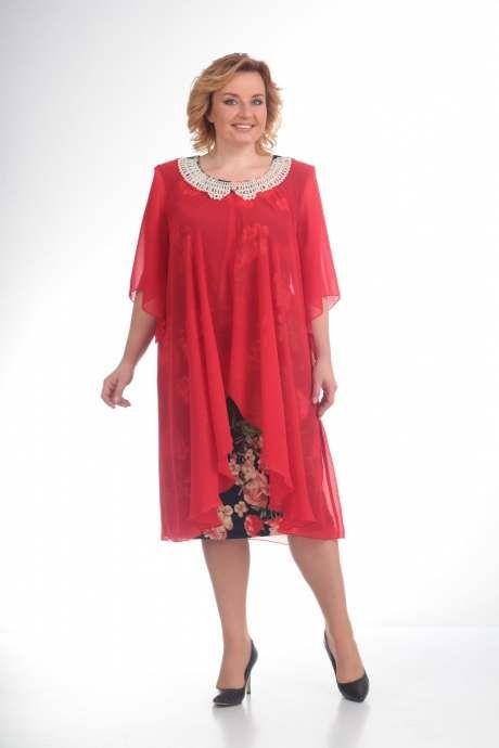 Платья для полных женщин белорусской компании Pretty. Лето 2017