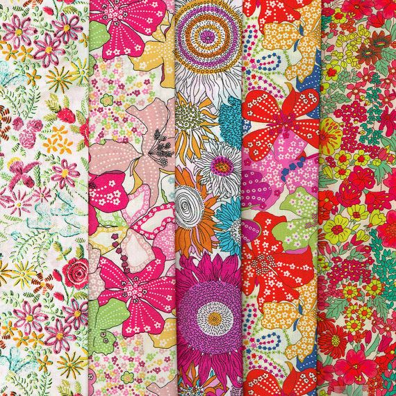 Lovely Selection of Fabric Scraps from Liberty of London 320