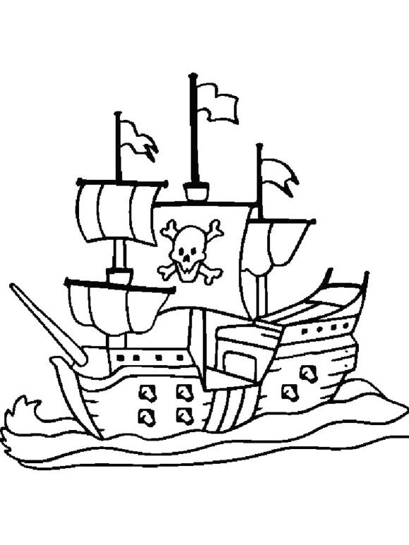 Pirate Ship Coloring Page Free Pirate Coloring Pages Coloring