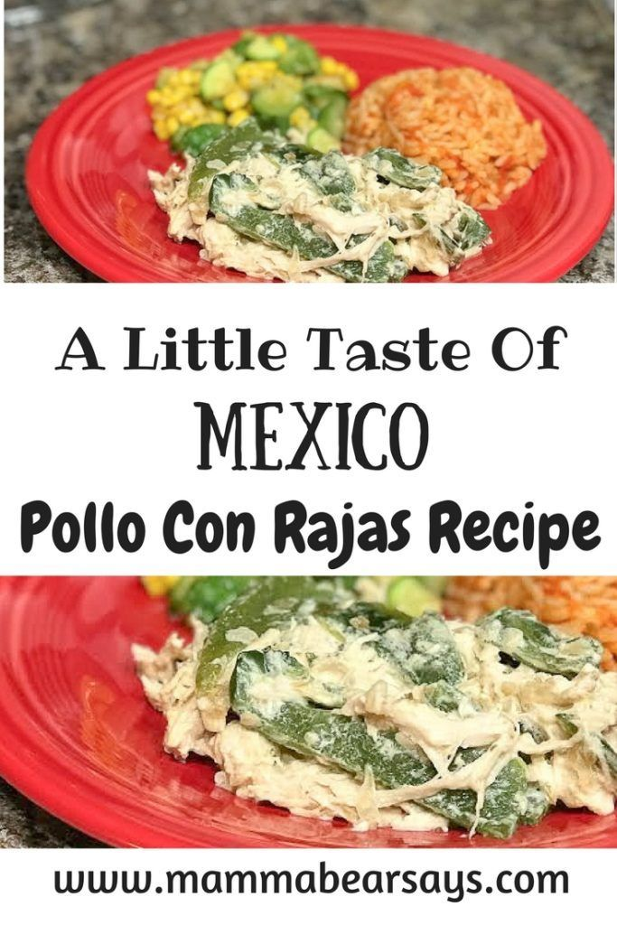 [ad]This pollo con rajas recipe will make you feel like you are eating at your grandma's! Easy to make & deliciously creamy with Nestle Media Crema. Must Try.