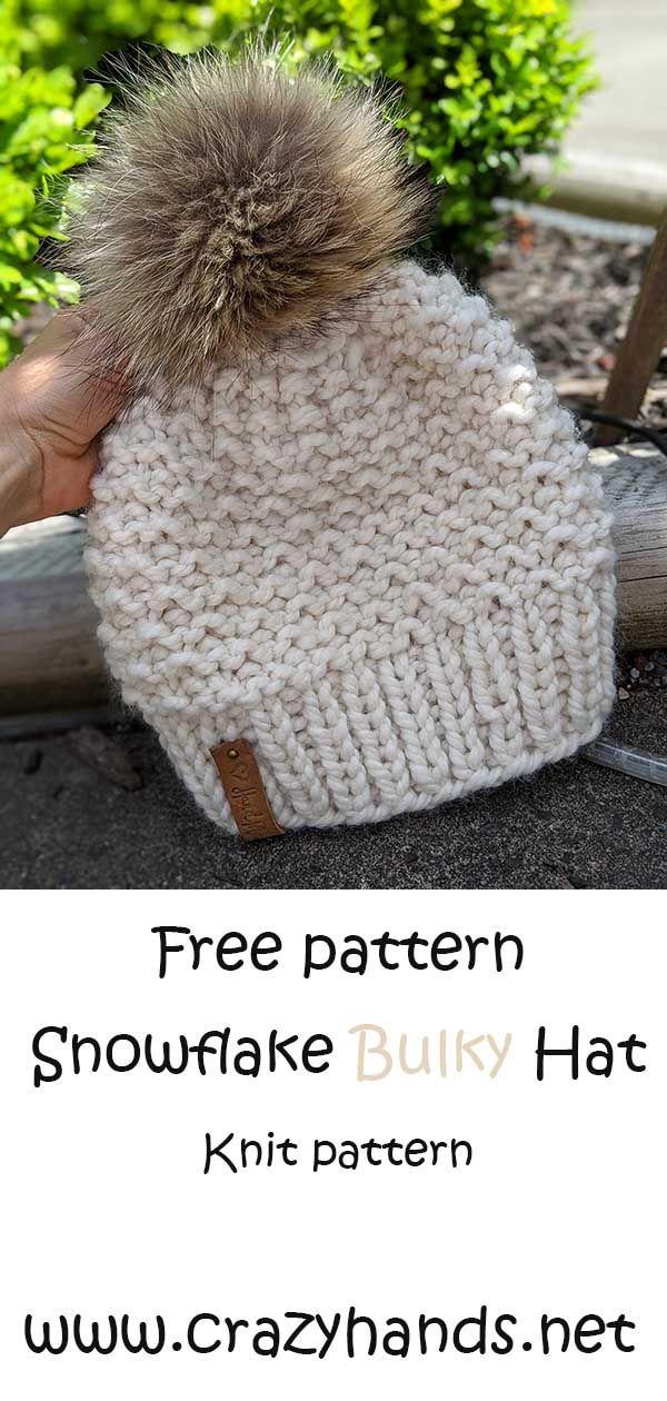 Free Knitting Pattern Super Bulky Hat Knitting Patterns Free Hats Hat Knitting Patterns Super Bulky Yarn Knitting Patterns