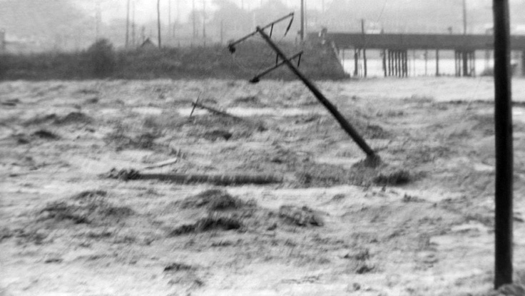 A selection of photos from the 1955 Maitland flood.