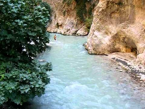 Video of a walk along Saklikent Gorge, near #Fethiye, #Turkey