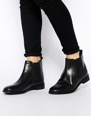 ASOS AIRTIME Leather Chelsea Ankle Boots £40.00