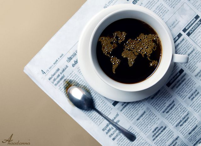 :) it's a coffee world #coffee