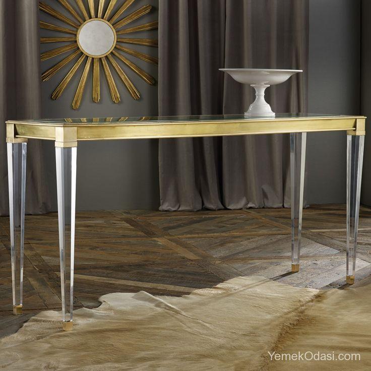 Modern Yemek Masaları En modern yemek masalarıyla sizlere yeni alternatifler sunuyoruz. Birbirinden şık ve güzel yemek masalarıyla yemeklerinizin keyfini çıkarabilirsiniz.    Eğimli üst cam, pleksi cam koni masa ayakları, zarif metalik detaylarıyla göz alan, ince işçilik gerektiren modern yemek masası.    ... http://www.yemekodasi.com/modern-yemek-masalari/