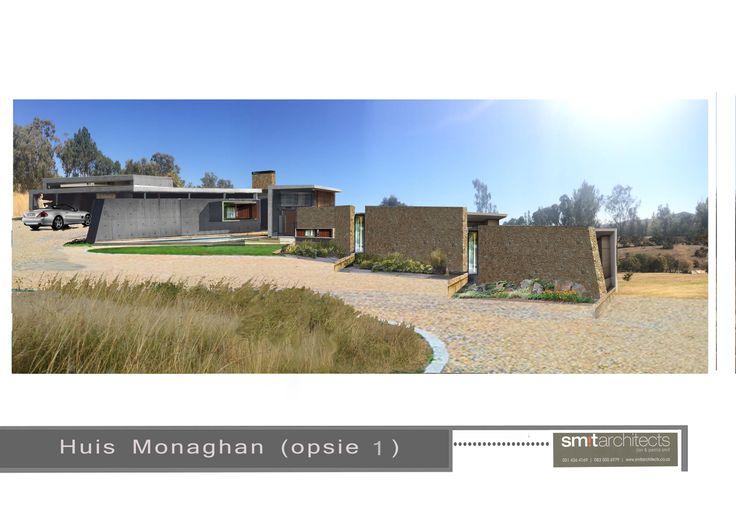 Option 1: House 2, Monaghan, Johannesburg (Smit Architects)