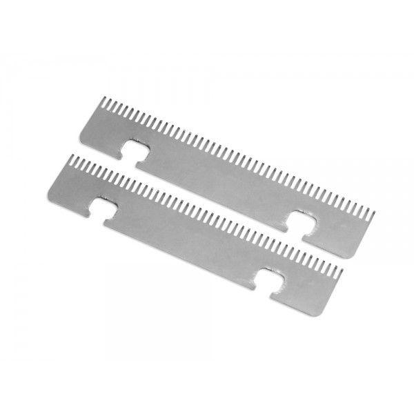 Piepteni rezerva Trezo - un set contine 2 buc piepteni de rezerva/schimb; exista varianta pentru TREZO 100 1.1 mm, TREZO 100 0.8mm si TREZO 160 0.8mm. Pentru detalii si comenzi: www.tuburipentrutigari.ro