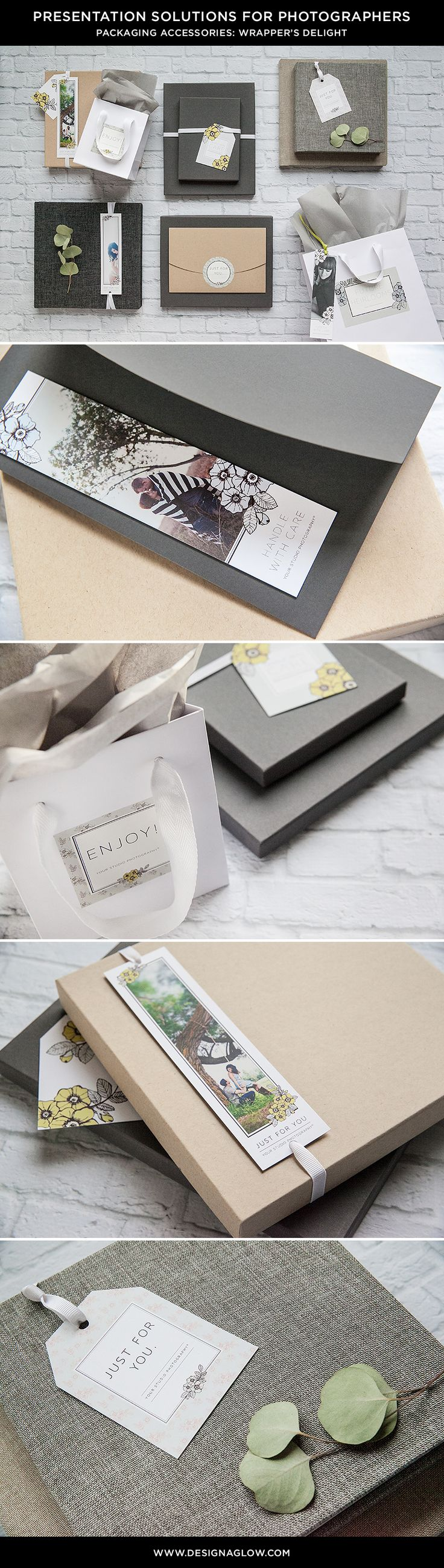 Leave a great impression with gorgeous packaging accessories! #designaglow
