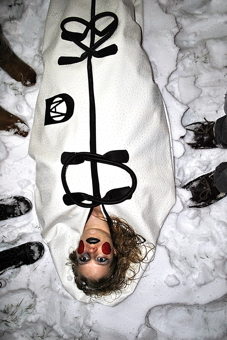 Molly in the Snow  markallenbodybags.com