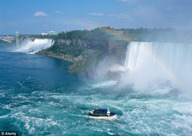Niagara falls and rode the maid of the mist places i ve been