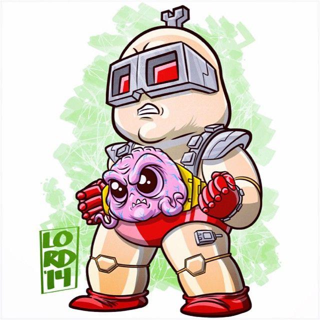 Super Lil TMNT: Krang
