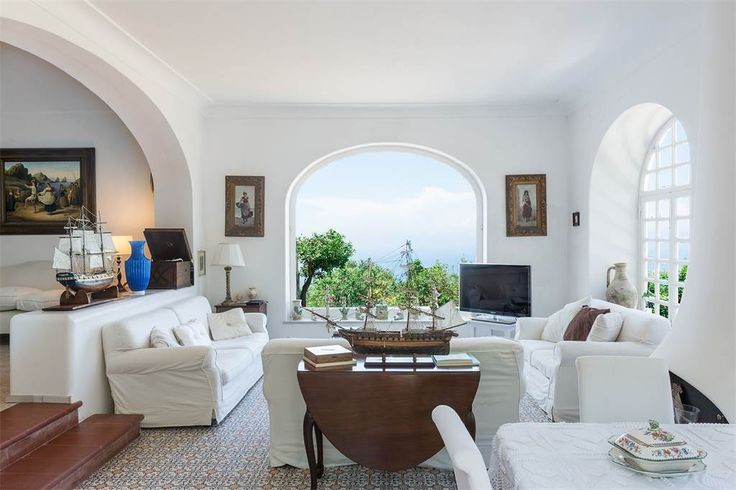 Suggestive villa in the heart of Anacapri Naples, Italy – Luxury Home For Sale