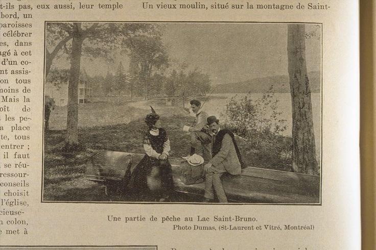 Une partie de pêche au lac Saint-Bruno