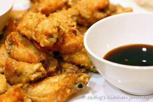 Korean Style Fried Chicken Wings | Chinese Dishes | Pinterest