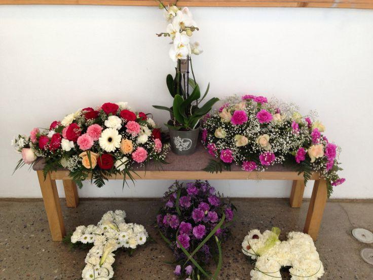 Begravelse på utstilling.