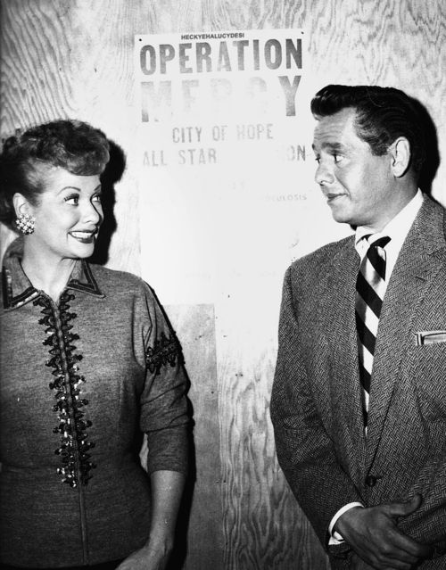 Lucille Ball And Desi Arnaz They Were Married For Nearly