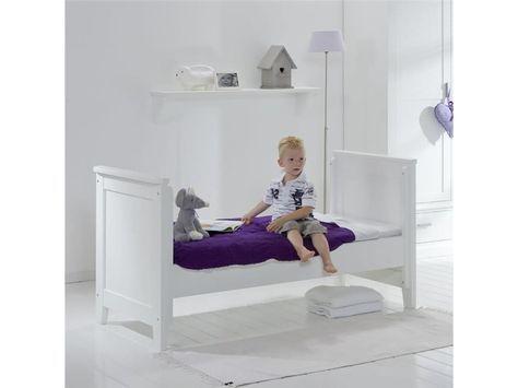 Elegant Umbauseiten f r Babybett Elegance xcm Snow white ALTA furniture Jetzt bestellen unter https