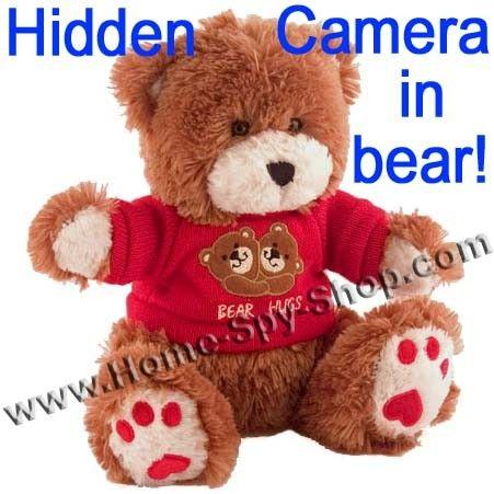 spy camera bear