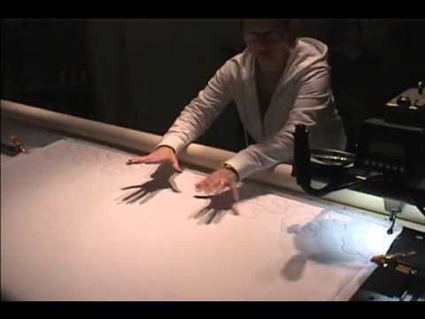 How To use a longarm machine with a Paper Pantograph - YouTube
