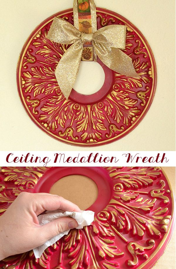 You won't believe how simple this gorgeous wreath is! Great for Autumn and Christmas-time!