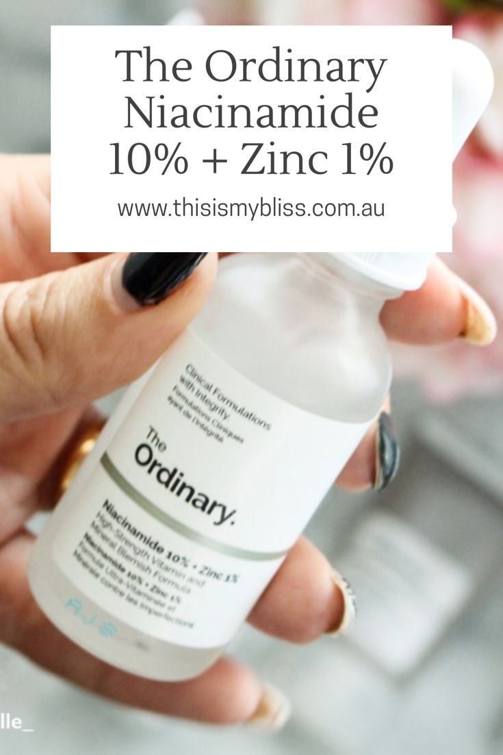 Review | The Ordinary Niacinamide 10%   Zinc 1% – This is my bliss