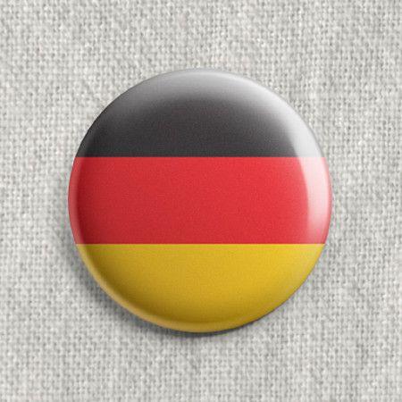 Boton Bandeira Alemanha