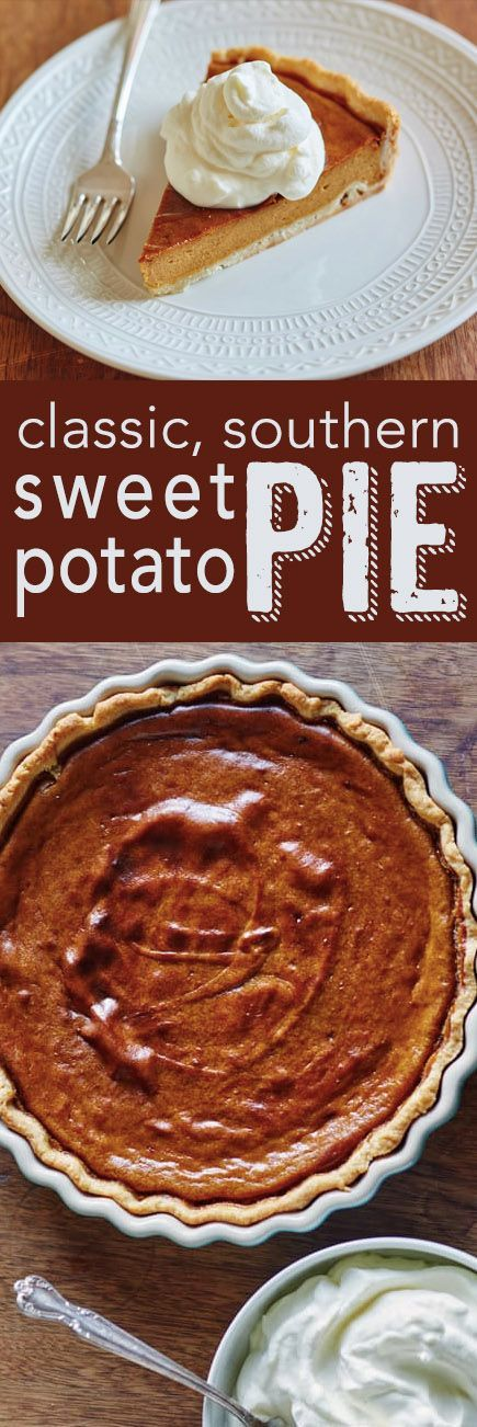 How To Make The Best Sweet Potato Pie From Scratch. We make this classic southern recipe easy with our step by step instructions! Serve this up instead of pumpkin pie for dessert at Thanksgiving this year and your guests will rave!