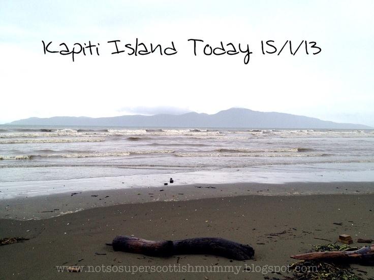 Not So Super Scottish Mummy: Kapiti Island Today 15/1/13