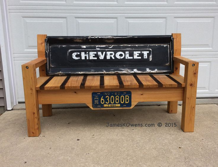 Dale S Tailgate Bench Jameskowens Diy Projects