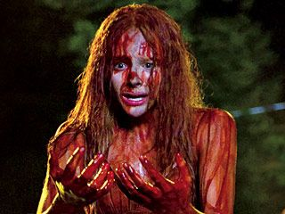 Chloe Grace Moretz as the title role in the Carrie remake.