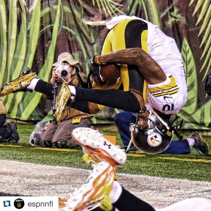 Steelers bengals awesome catch
