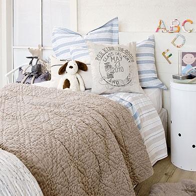 boys bedding color inspiration